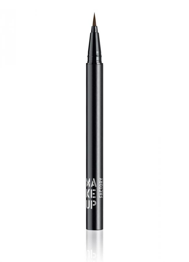 Подводка для глаз жидкая Calligraphic Eye Liner тон 5 КоричневыйПодводка для век<br>Высокопигментированная жидкая подводка для глаз&amp;nbsp;&amp;nbsp;Calligraphic Eye Liner с точной «каллиграфической» кисточкой,&amp;nbsp;&amp;nbsp;позволяет создать&amp;nbsp;&amp;nbsp;тонкую «художественную» линию вдоль века. Удлиненная кисть - аппликатор с подвижным кончиком позволяет регулировать толщину линий. Подводка создает плотный черный цвет после нанесения и высыхания, а также отличается экстремальной устойчивостью.<br>Цвет: Коричневый;