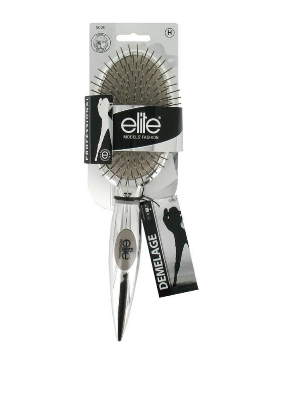 Щетка массажная большая с металлическими зубьямиЩетки для укладки<br>Массажная щетка с металлическими зубьями легко и просто распутывает любые волосы, даже самые жесткие и длинные.<br>