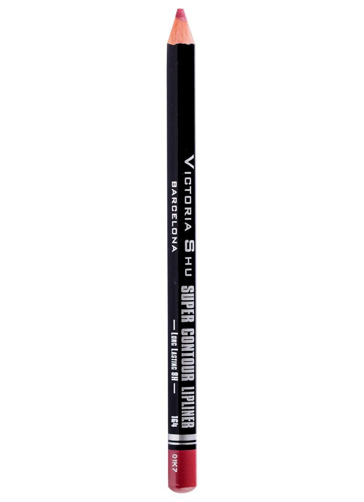 Карандаш для губ устойчивый Super Contour тон 164Карандаш для губ<br>-<br>Вес : 0.78; Цвет: Темно-нюдовый;