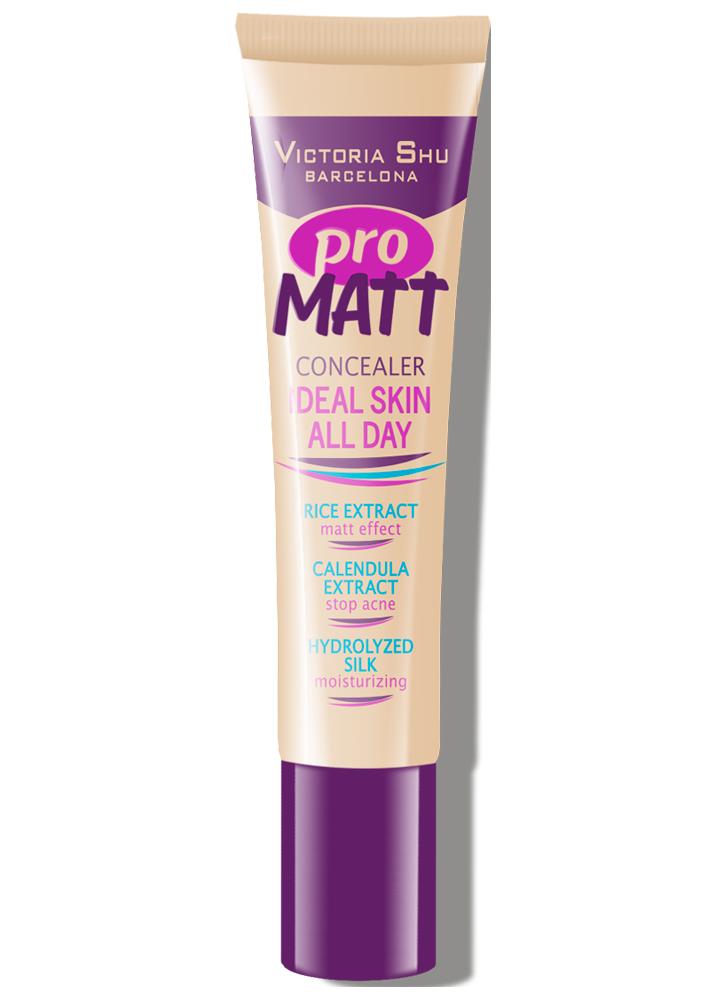 Консилер Pro Matt тон 112 ПастельныйКонсилер<br>Абсолютно невесомый консилер, сочетающий в себе маскирующие свойства и уход за кожей. <br>Цвет: Пастельный;