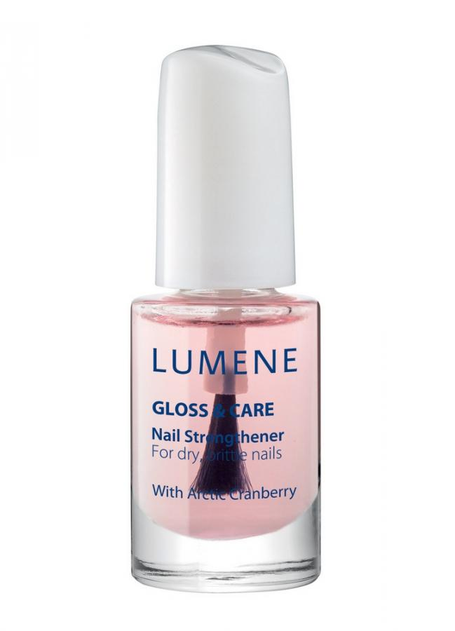 LUMENE Средство для укрепления ногтей Nail Strengthener Gloss  Care