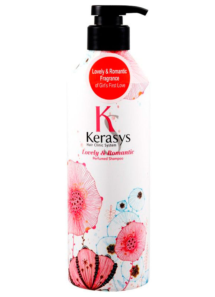 Шампунь для волос Романтик KERASYS Kerasys Lovely & Romantic Parfumed Shampoo фото
