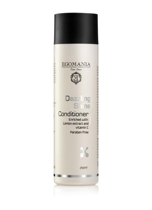 EGOMANIA Кондиционер для придания блеска волосам Dazzling Shine 250 мл