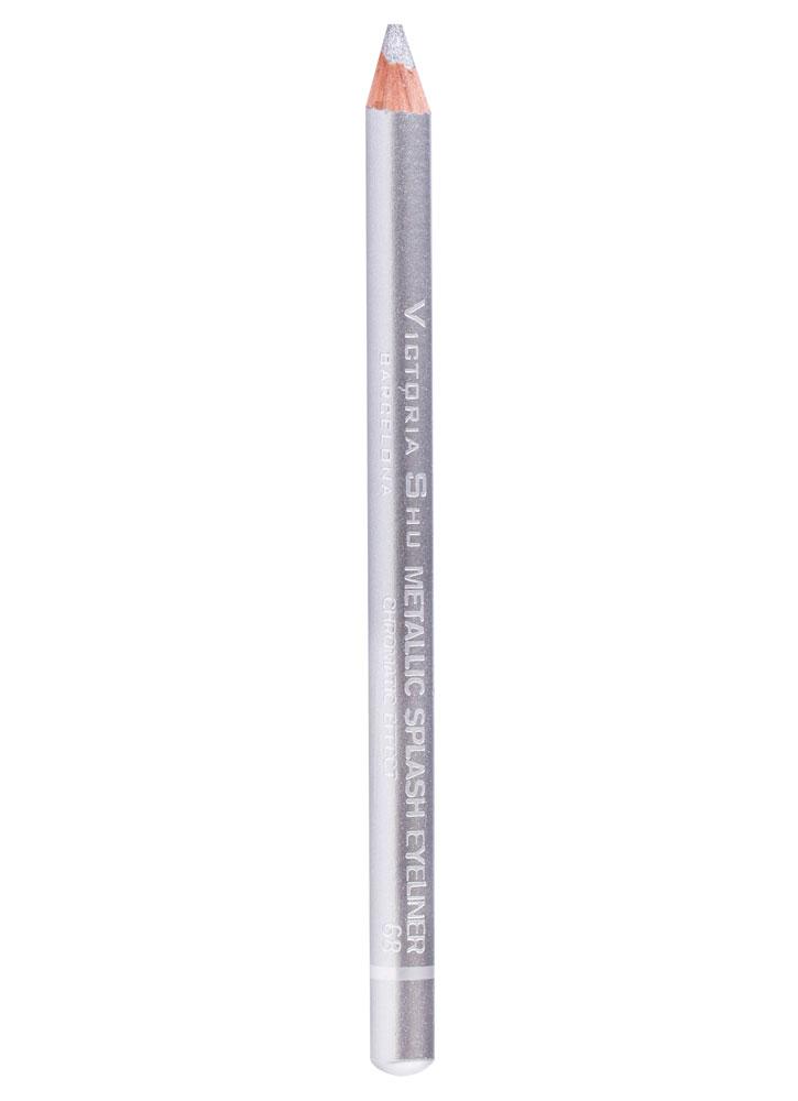 Карандаш для глаз Светло-серебряный VICTORIA SHU Metallic Splash фото