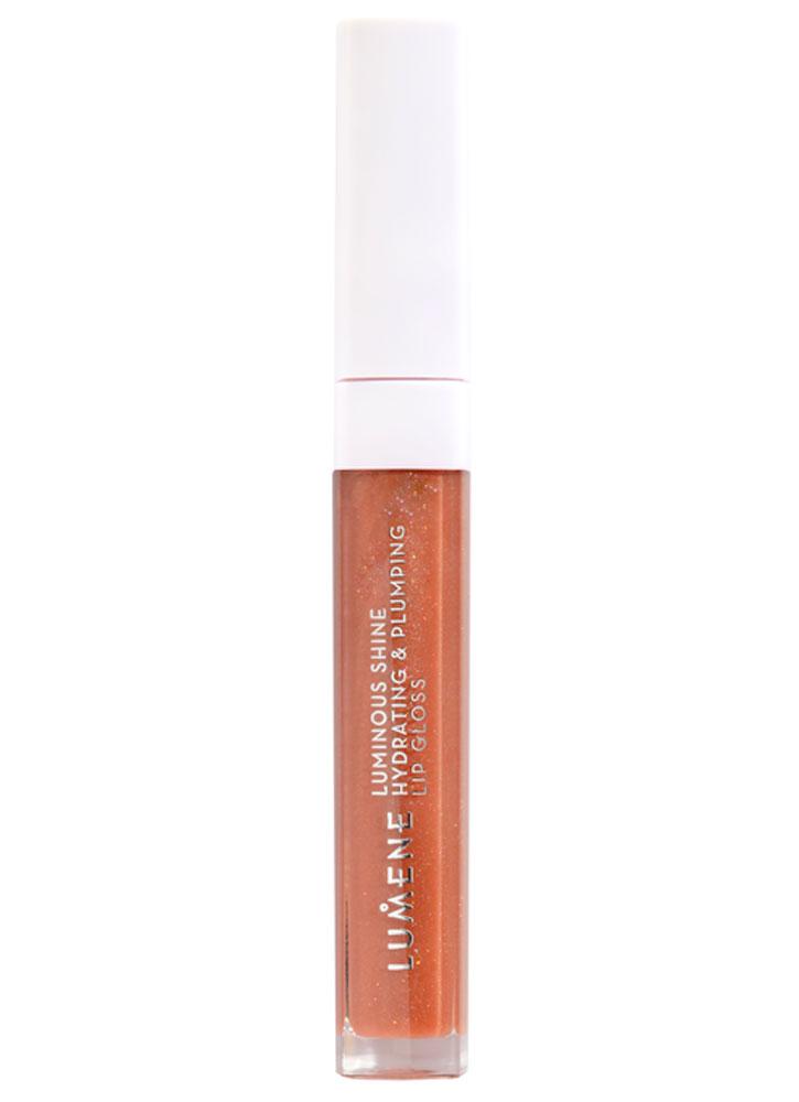 Купить Блеск для губ увлажняющий, придающий объем и сияние LUMENE, Luminous shine hydrating & plumping lip gloss, Финляндия