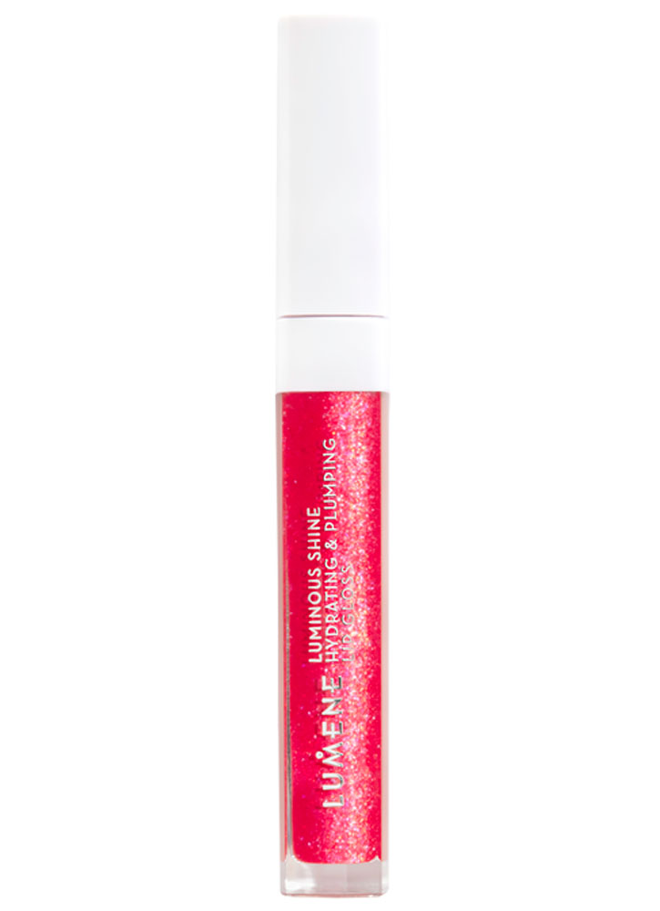 Блеск для губ увлажняющий, придающий объем и сияние LUMENE Luminous shine hydrating & plumping lip gloss фото