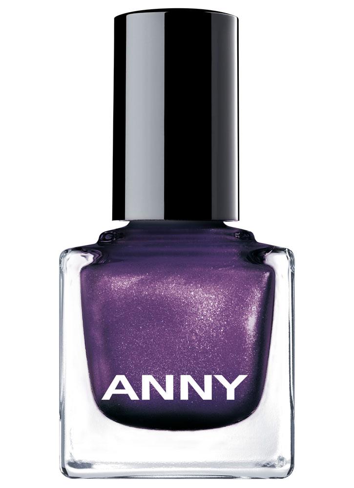 Купить Лак для ногтей Фиолетовый с перламутром ANNY, Shades, Германия