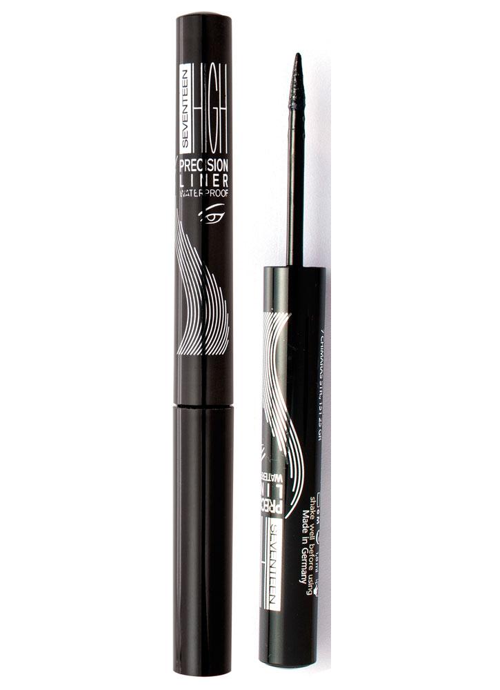 Подводка для глаз водостойкая High Precision Liner Waterproof тон 1Подводка для век<br>Жидкая подводка для макияжа с фетровым аппликатором. Устойчивый результат.<br>Объем мл: 1.8; Цвет: Угольно-черный;