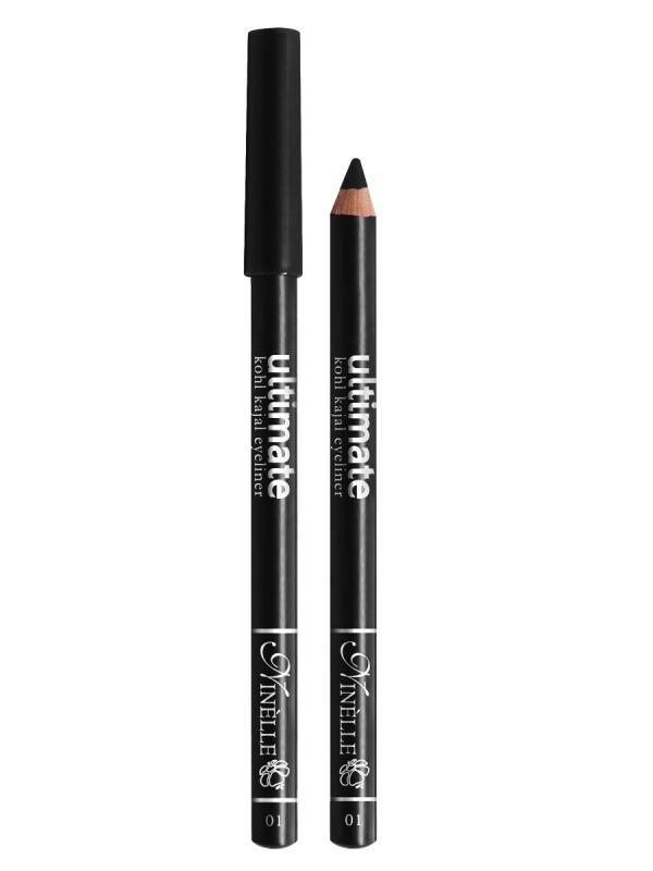 Карандаш для глаз Ultimate тон 1 ЧерныйКарандаш для глаз<br>Высокопигментированный карандаш для создания яркого и смелого макияжа. Мягкий и гладкий карандаш для глаз с шелковистой текстурой, позволяющий нарисовать четкую или слегка растушеванную линию. С помощью мягкого карандаша- каяла можно подводить верхнее, нижнее, а также внутреннее веко.<br>Цвет: Черный;