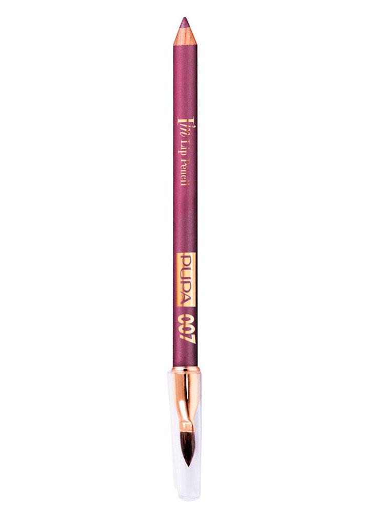 Карандаш для губ IM Lip Pencil тон 007Карандаш для губ<br>-Новый карандаш для губ от PUPA с мягкой, гладкой и комфортной текстурой. Он легко наносится и растушевывается, создавая насыщенный и стойкий цвет. Кремовая формула продукта обогащена миксом специальных пигментов, которые дают идеально интенсивный цвет и сочетанием восков и масел с увлажняющими и смягчающими свойствами. <br><br>Вес гр: 1,1; Цвет: Цикламен;