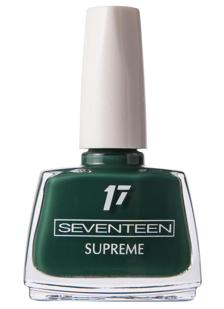 Лак д/ногтей тон 207 Supreme Nail Enamel очень тёмный зелёныйЛак для ногтей<br>Устойчивый лак для ногтей с насыщенной текстурой.<br>Цвет: Тёмный зелёный;