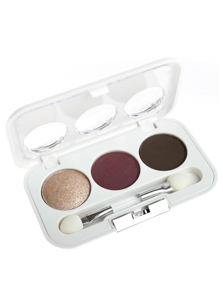 Тени для век трио Perfect Harmony Eyes тон 109 коричневый, темно-коричневый, бежевыйТени для век<br>Мини-палетка компактных теней для век. Специально подобранные оттенки для создания гармоничных сочетаний.<br>Цвет: коричневый, темно-коричневый, бежевый;