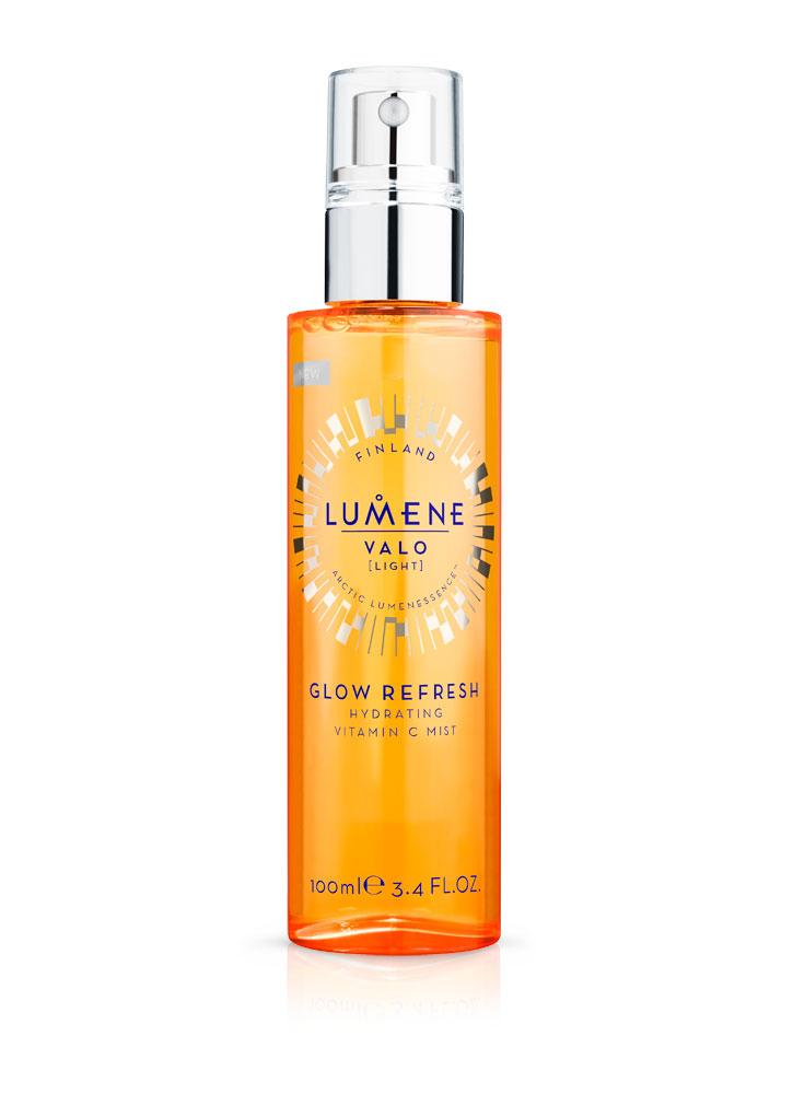Дымка для лица увлажняющая освежающая с витамином С LUMENE Glow Refresh Hydrating Vitamin C Mist фото