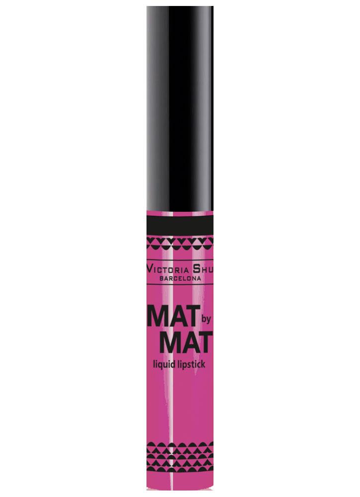 Помада для губ жидкая матовая Mat By Mat тон 250Помада для губ<br>-<br>Цвет: Романтический розовый;