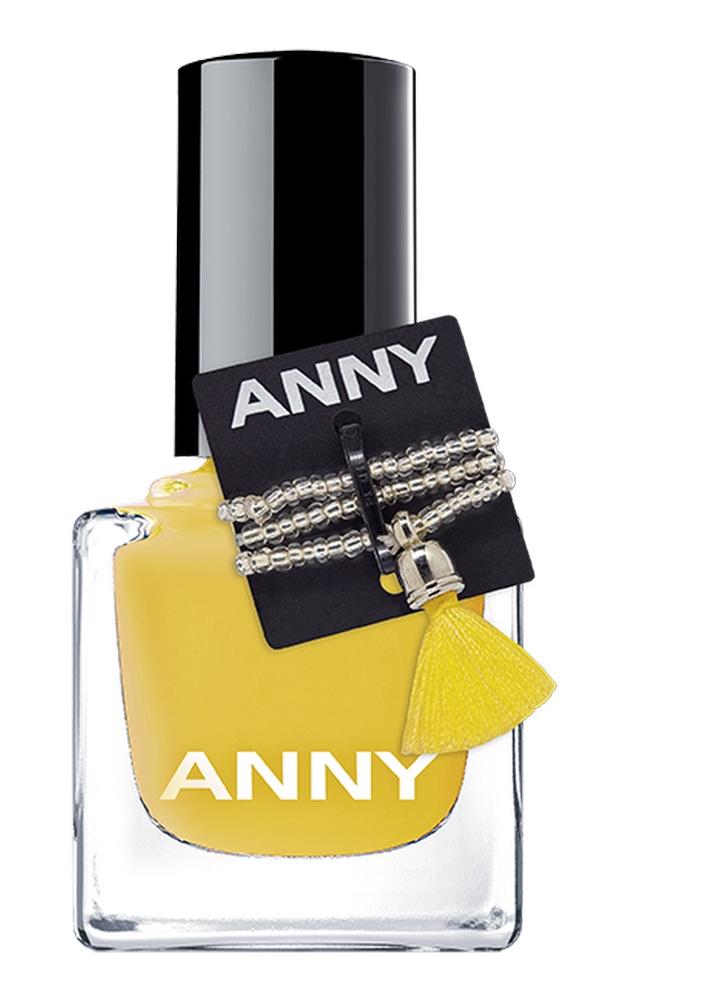 Лак для ногтей Shades тон 373.90Лак для ногтей<br>ANNY придерживается уникального цветового концепта, базирующегося на более чем 100 оттенков лака для ногтей профессионального качества, которые обеспечивают превосходное покрытие даже одним слоем, быстро сохнут и долго хранятся, не теряя блеска. Плоская удлиненная профессиональная кисточка позволит легко и просто наносить лак на ногти.<br>Объем мл: 15; Цвет: Желтый;
