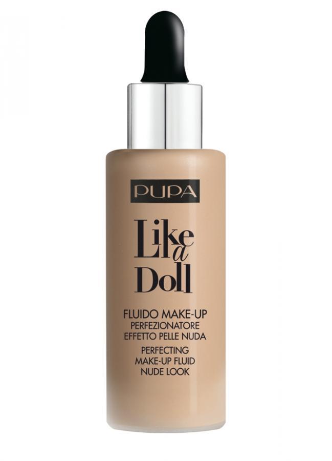 Тональный крем Like A Doll - Make-Up Fluid Nude Look тон 40 Средний бежевыйТональное средство<br>Like a doll - это уникальное нежное тональное средство с эффектом естественной кожи. Флюид мягко ложится и распределяется по коже, смягчая несовершенства кожи, создавая естественное покрытие. Идеальное средство для всех типов кожи. Супер легкая, жидкая текстура, как вода, облегчает нанесение продукта и дарит неповторимое ощущение мягкости и гладкости кожи. Тональная основа также защитит Вашу кожу от вредного воздействия солнца и предотвратит ее преждевременное старение. Как результат: сияющая и естественная кожа!<br>Цвет: Средний бежевый;