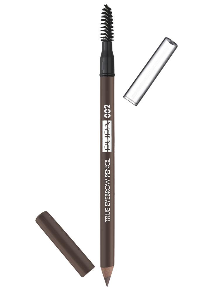 Карандаш для бровей True Eyebrow Pencil тон 002Карандаш для бровей<br>-<br>Цвет: Коричневый;