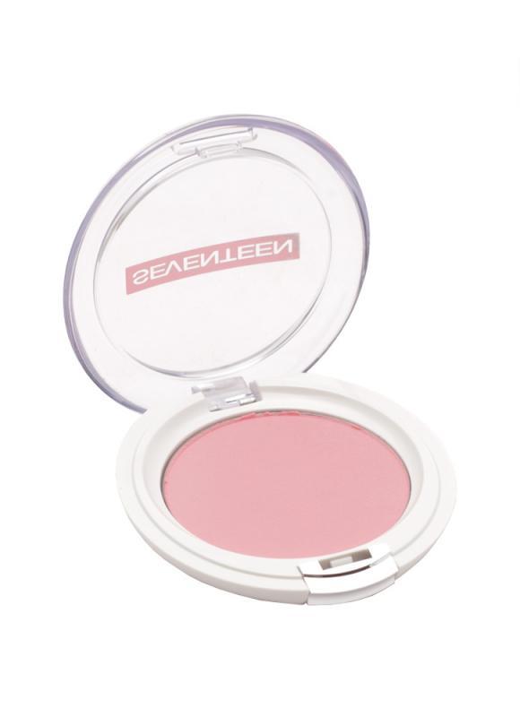 SEVENTEEN Румяна для лица матовые шелковистые компактные Natural Matte Silky Blusher тон 6 Натуральный розовый