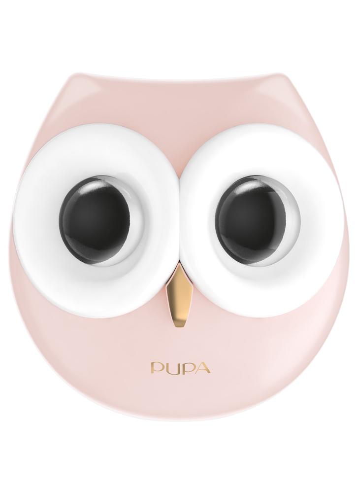 Шкатулка для макияжа PUPA OWL 2 тон 011Наборы<br>-Подарочная шкатулка для макияжа в виде очаровательной совы понравится любой девушке! В набор входят два типа продуктов - для глаз и для губ.<br>Цвет: Холодные оттенки;