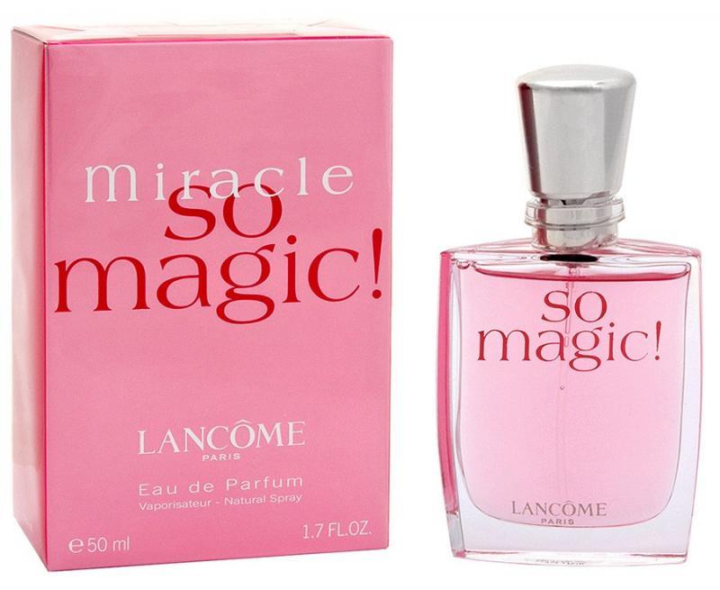 Парфюмерная вода Miracle So Magic жен. 50 млДухи и парфюмерная вода<br>Яркая и необычная цветочная композиция, в основе которой ноты розы, нарцисса и клевера, привлекает своей элегантностью и непосредственностью. Аромат Miracle So Magic понравится молодым, жизнерадостным девушкам и обольстительным женщинам. Он наполняет Вас ощущением радости и счастья. Miracle So Magic - аромат сбывшихся грез и волшебных миров. Группа аромата:Цветочно-восточный<br>