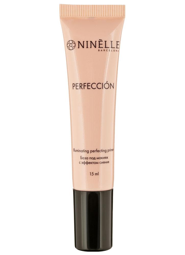 База под макияж с эффектом сияния Золотисто-персиковый NINELLE Perfeccion фото