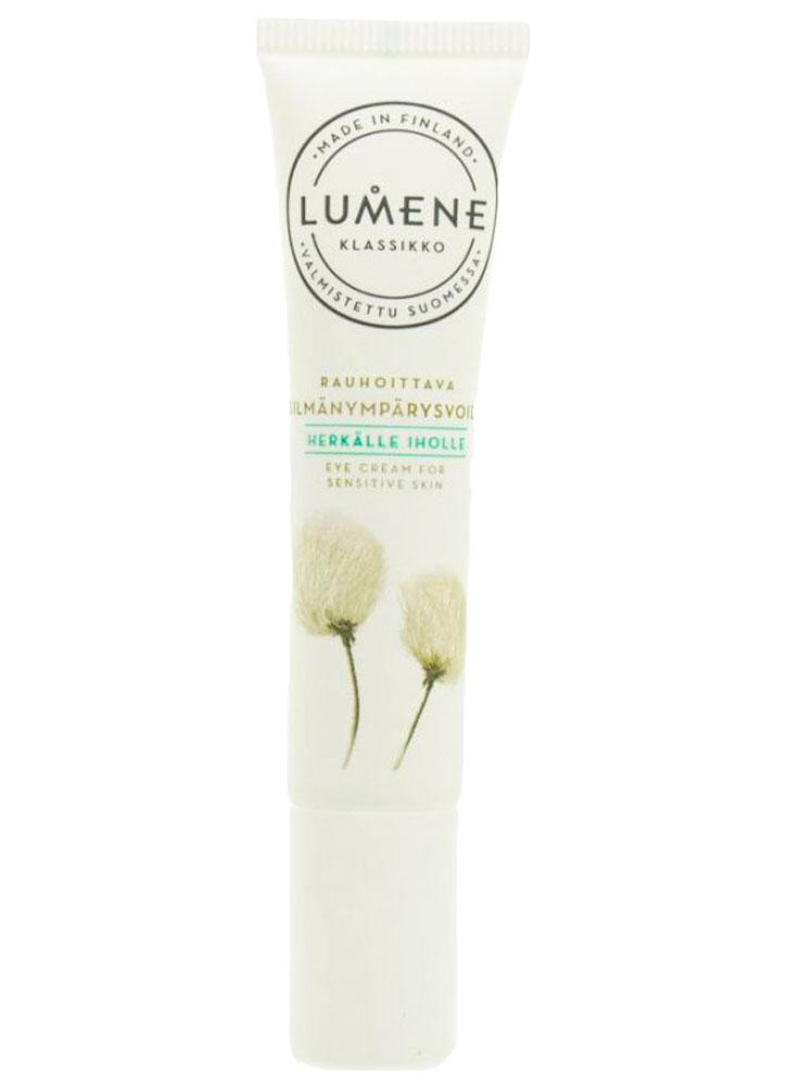 Крем успокаивающий для зоны вокруг глаз LUMENE Eye Cream For Sensitive Skin Klassikko