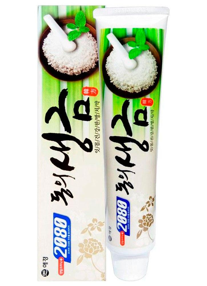 Зубная паста лечебные травы и биосоли DENTAL CLINIC 2080, Herb & Biosalt, Южная Корея  - Купить