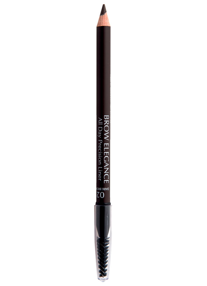 Карандаш для бровей Темный коричневый SEVENTEEN Brow Elegance All Day Precision Liner фото