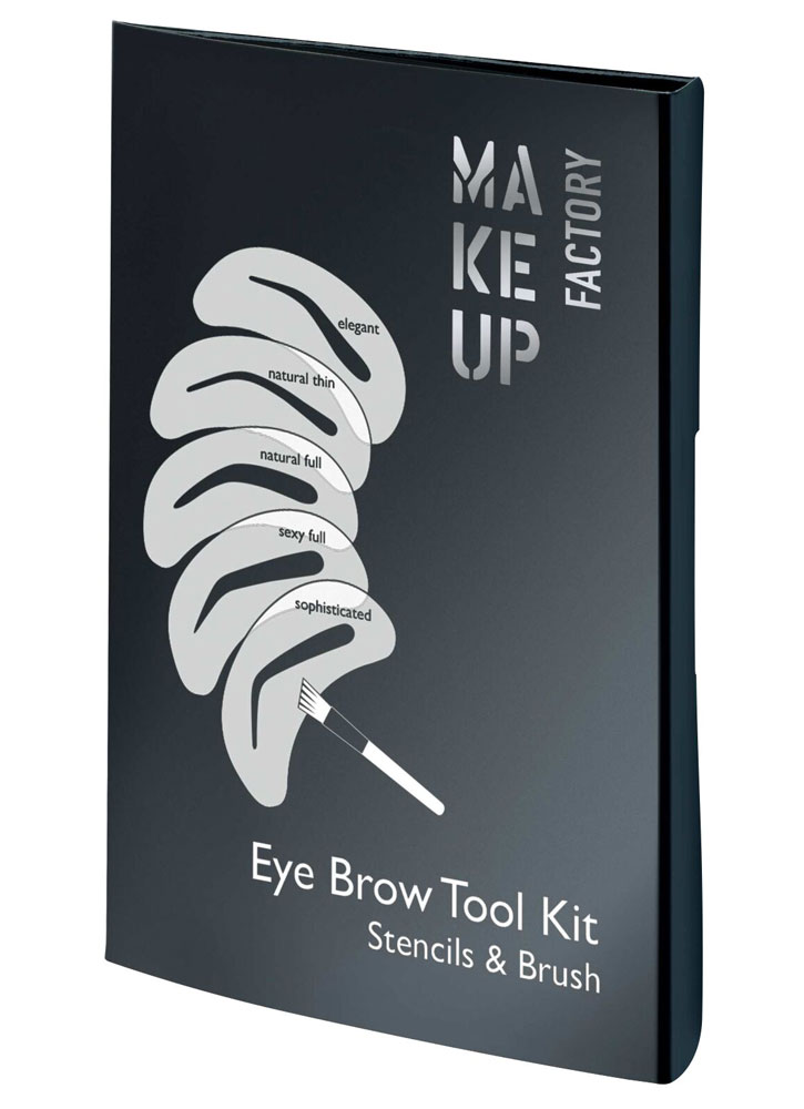Купить Набор трафаретов для бровей MAKE UP FACTORY, Eye Brow Tool Kit, Республика Корея