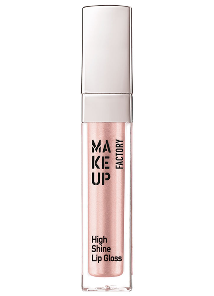 Блеск для губ Молочно-розовый перламутр MAKE UP FACTORY High Shine фото