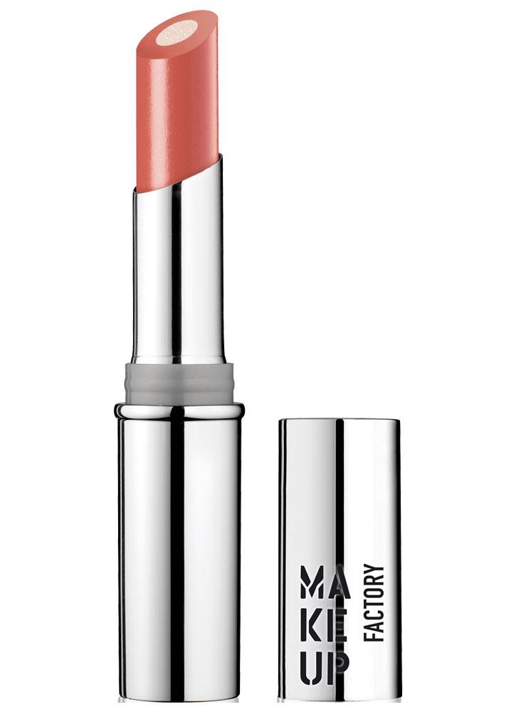 Помада для губ с мерцающим стержнем Красный коралл MAKE UP FACTORY Inner Glow Lip Color фото