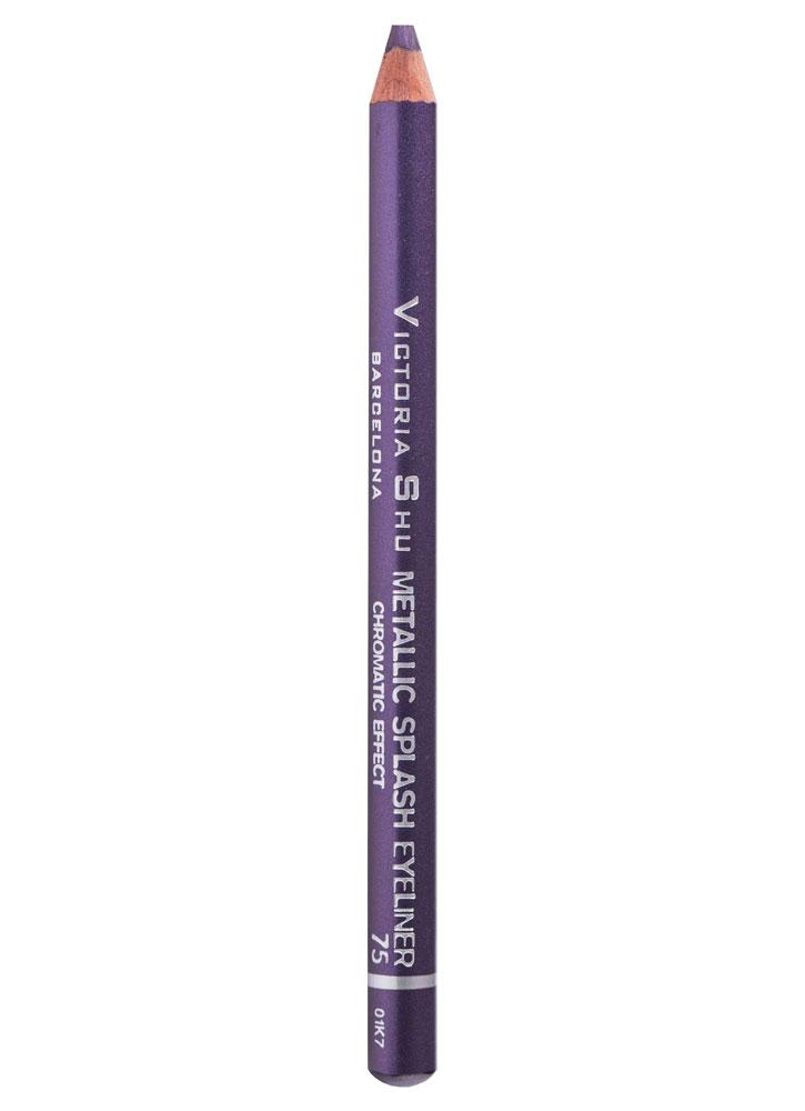 Карандаш для глаз Фиолетовый VICTORIA SHU Metallic Splash фото
