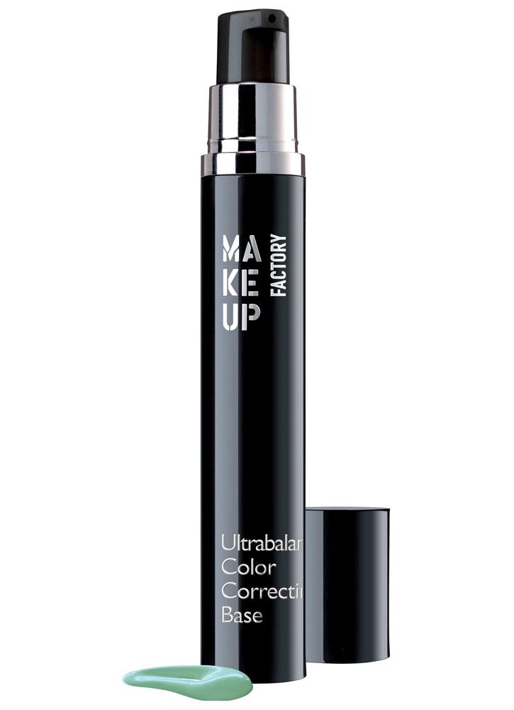 База под макияж корректирующая цвет лица Ultrabalance Color Correcting Base тон 12Праймер<br>-База под макияж имеет жидкую, кремовую текстуру, которая ровно наносится и придает коже приятное ощущение. Специальный праймер балансирует цвет кожи, маскирует мелкие дефекты. Входящие в состав тонкие, перламутровые пигменты улучшают цвет лица, делая его здоровым и сияющим. База под макияж отлично подготовит кожу к нанесению тонального средства и увеличит его стойкость.<br>Цвет: Зеленый;
