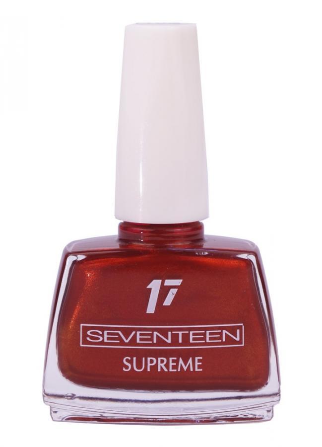 Лак для ногтей Supreme Nail Enamel тон 102 Коричнево-красныйЛак для ногтей<br>Устойчивый лак для ногтей с насыщенной текстурой.<br>Цвет: Коричнево-красный;