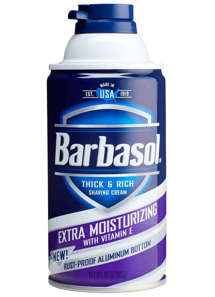 Крем-пена для бритья увлажняющая BARBASOL