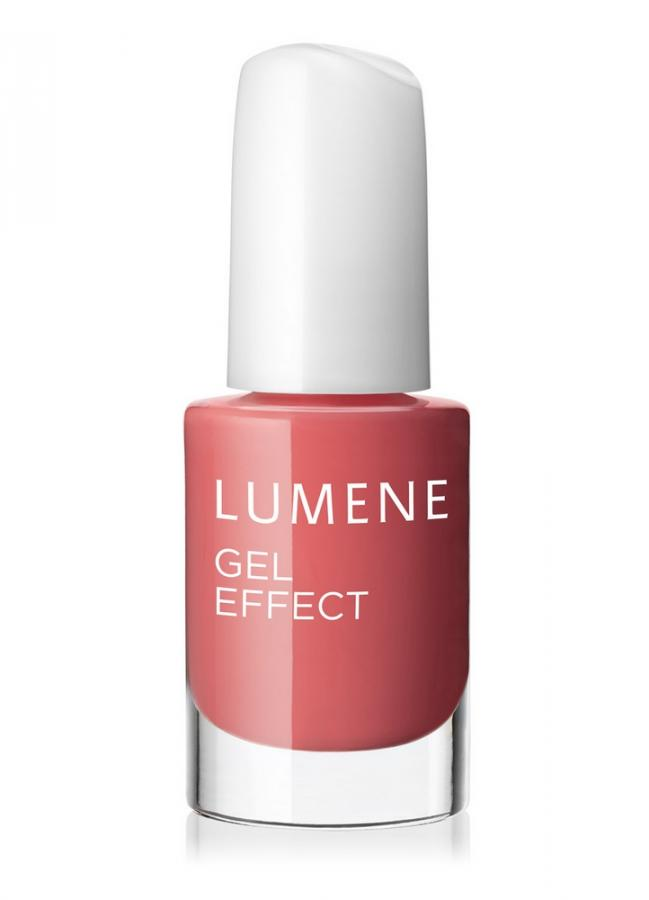 LUMENE Лак для ногтей с гелевым эффектом 2015 Gel Effect Nail Polish тон 11 Смелый поцелуй