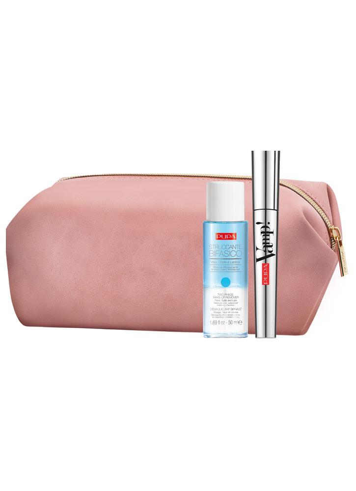 Купить Набор тушь+двухфазное средство для снятия макияжа PUPA, Vamp! Mascara & Two-phase Make-up Remover