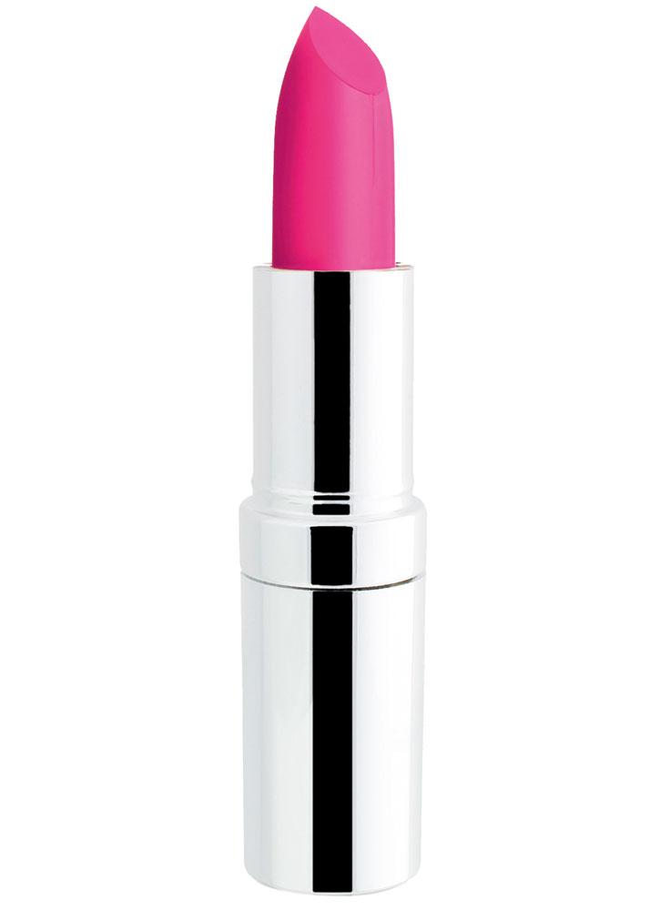 Помада для губ матовая Ярко розовый SEVENTEENПомада для губ<br>Устойчивая помада с матовым эффектом и с защитным фактором SPF15. Защищает губы и придает насыщенный цвет.<br>Вес гр: 5; Цвет: Ярко розовый; RGB: 241,135,185;