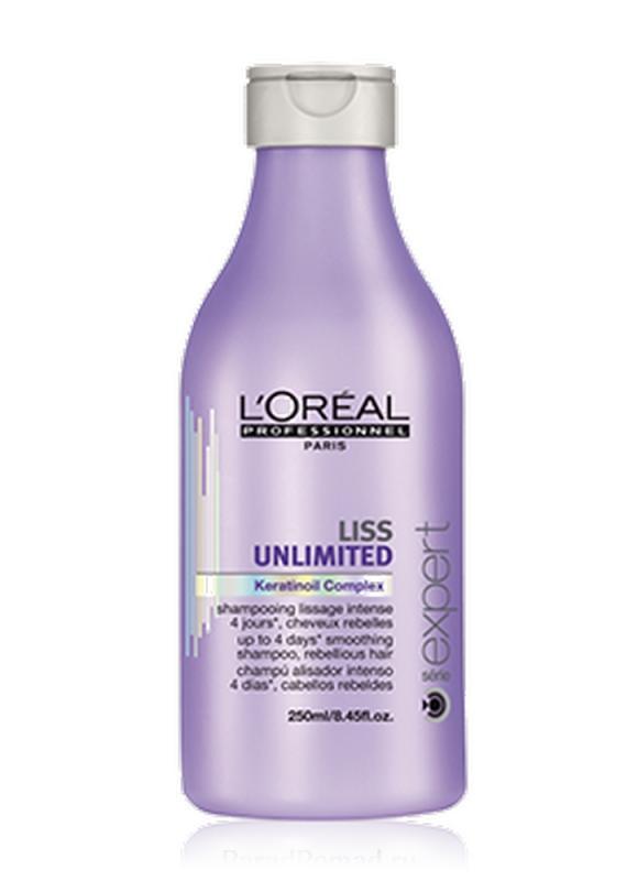 Шампунь для непослушных волос Liss Unlimited 250 млШампуни<br>Шампунь для непослушных и вьющихся волос Liss Unlimited восстанавливает мягкость, разглаживает и обеспечивает питание для непослушных волос, облегчая расчесывание.<br>