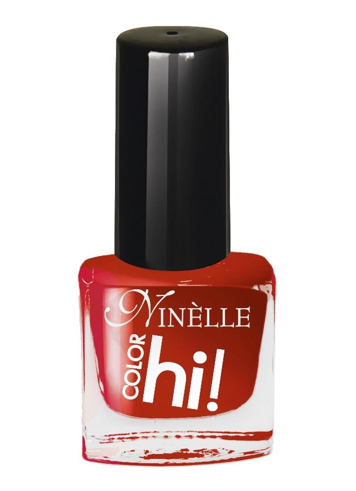 Лак для ногтей HI!Color тон 59Лак для ногтей<br>Лак для ногтей HI COLOR от Ninelle – это абсолютный цвет, ультра-сияние и стойкость. В новой коллекции 15 ультрасовременных оттенков для идеального маникюра с эффектами, от которых невозможно отказаться!<br>Цвет: Темно-красный;