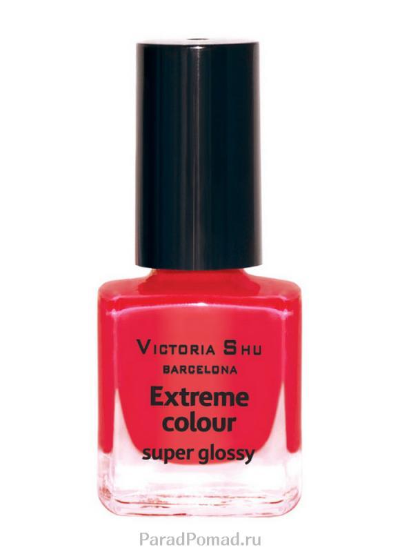 Лак для ногтей Extreme Colour Золотая Victoria Shu тон 225 розово-коралловыйЛак для ногтей<br>EXTREME COLOUR от VICTORIA SHU – это яркие, смелые, соблазнительные оттенки. Любые цвета – на любой вкус, от нежных пастельных, интенсивных супермодных оранжевых, лиловых и оттенков фуксии до сенсационных красного и черного.<br>Цвет: розово-коралловый;