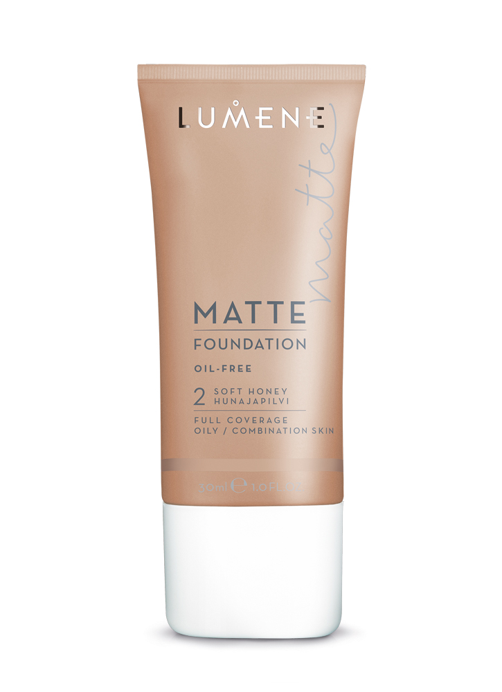 заказать LUMENE Тональный крем матирующий Matte тон 2 Soft Honey
