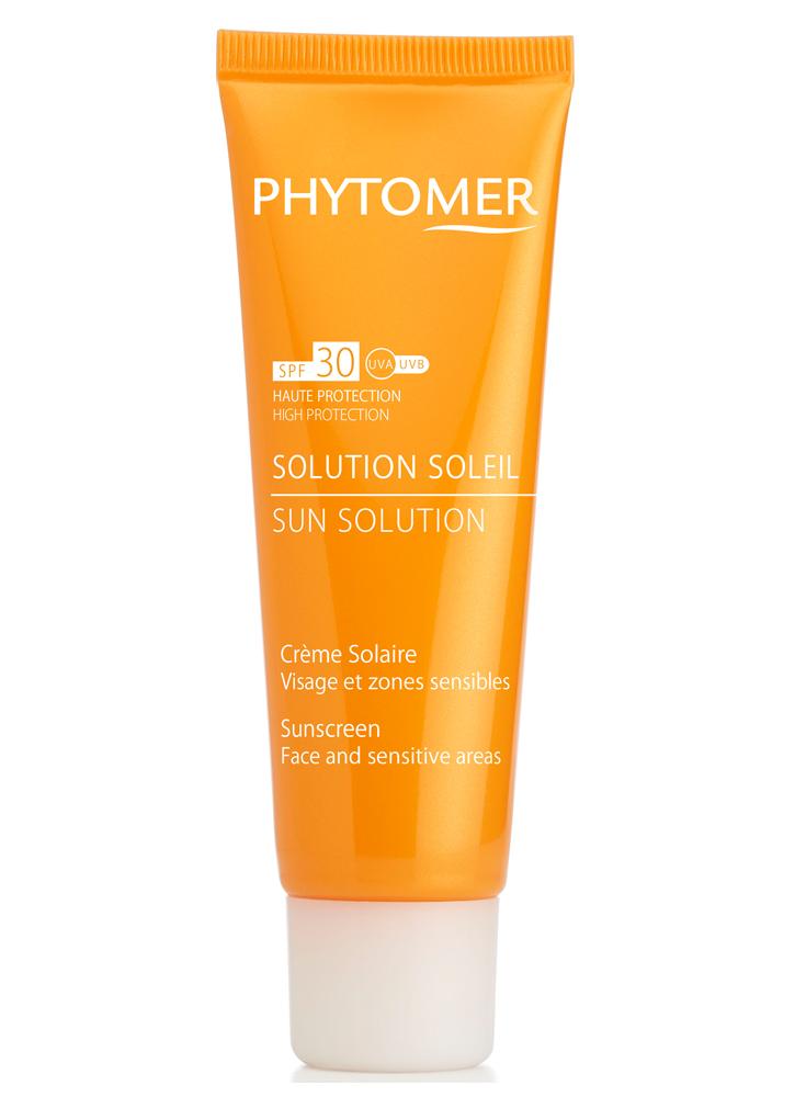 PHYTOMER Солнцезащитный крем SPF30 Sunactive Protective Sunscreen Dark spots SPF 30 50 мл