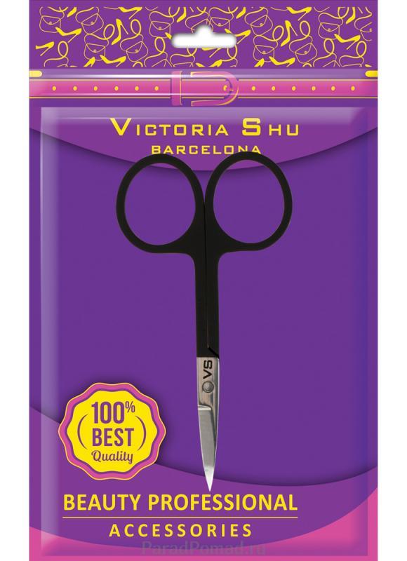 Ножницы для маникюра из нержавеющей стали VICTORIA SHU M408 фото