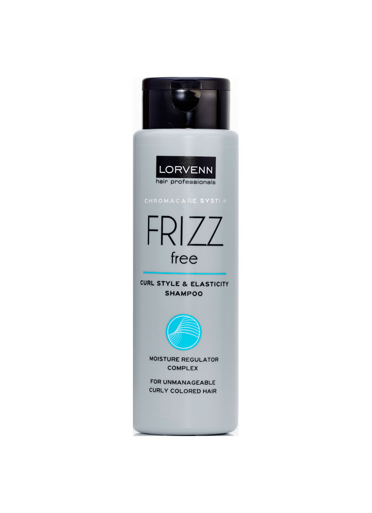 Шампунь для непослушных, вьющихся, окрашенных волос Lorvenn Frizz FreeШампуни<br>-<br>