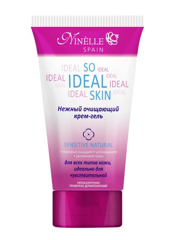 Крем-гельнежный очищающий So Ideal Skin 150 млГель очищающий<br>Эффективно очищая кожу от загрязнений, не пересушивая ее, крем-гель обеспечивает комплексный уход и надежную защиту. Восстанавливает баланс влаги в коже. Крем-гель – это полноценный и эффективный уход, позволяющий сохранить коже здоровье, красоту и молодость. Содержит микрогранулы.<br>