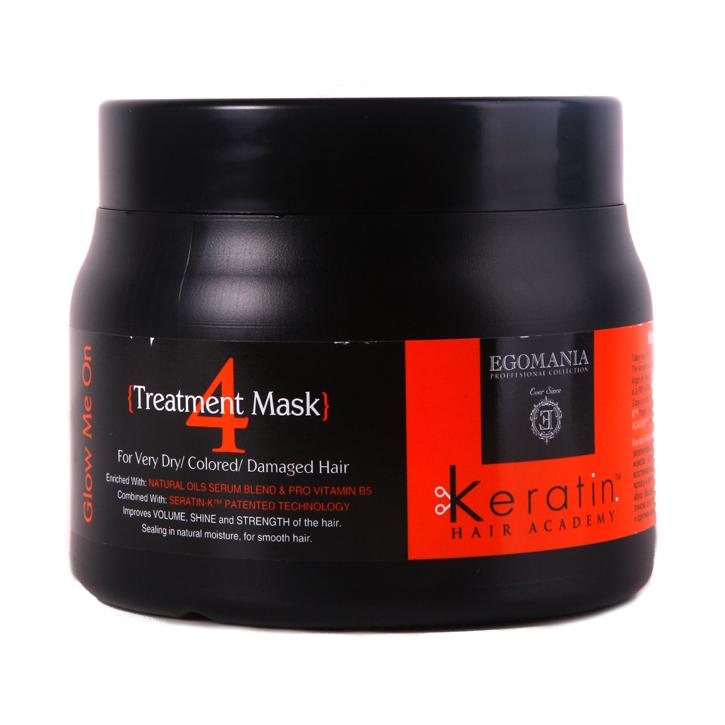 Маска для очень сухих, окрашенных, поврежденных волос EGOMANIAМаска<br>Восстанавливающая маска для окрашенных, поврежденных и сухих волос, обогащенная маслами, работает как самостоятельный продукт, благодаря уникальной формуле, которая способствует проникновению питательных компонентов в структуру волоса.<br>Объем мл: 500; RGB: 204,204,204;