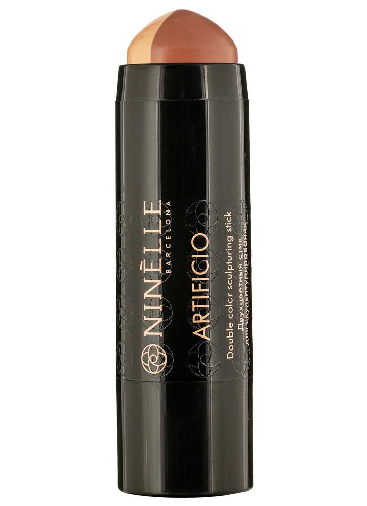 Купить Стик для скульптурирования двухцветный Ванильный+теплый коричневый NINELLE, Artificio, Испания