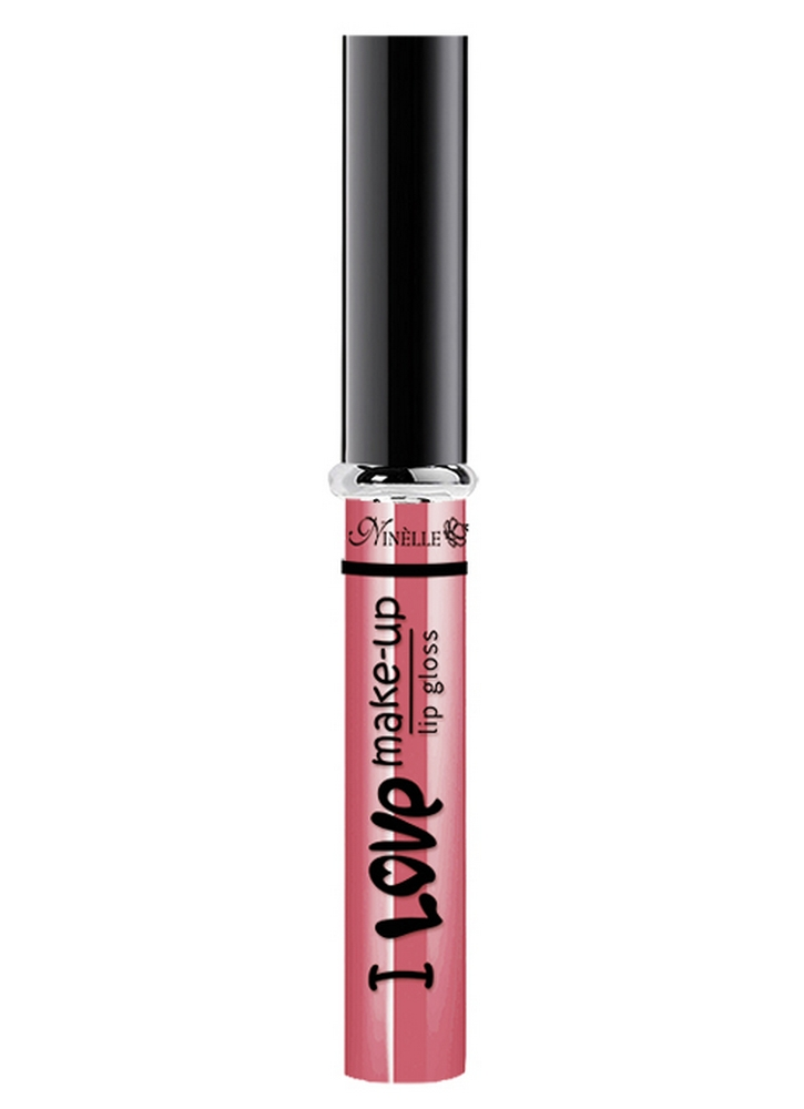 Блеск для губ I Love Make-Up тон 05 Нежно-розовыйБлеск для губ<br>Блеск для губ с нежной комфортной текстурой и легким женственным ароматом.<br>Цвет: Нежно-розовый;