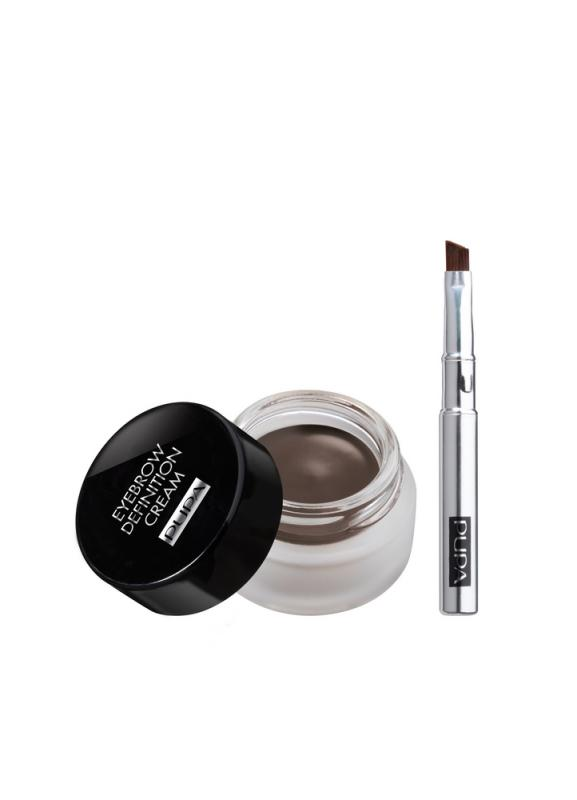 Крем для бровей Eyebrow Definition Cream тон 4 Темный шоколадВоск для моделирования бровей<br>Превосходное средство для создания идеально точно нарисованных и эффектных бровей.<br>Цвет: Темный шоколад;